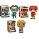 PAck Leonard Green Lantern Raj Aquaman Sheldon Flash Big Bang Funko Pop SDCC