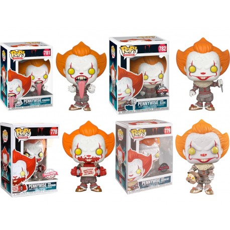 Pennywise Wrought iron It N544 funko Pop 2017