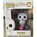 Flocked Hedwig lechuza MCM exclusivo Funko Pop Harry Potter