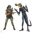 PAck Hicks Alien damaged Neca Alien Aliens
