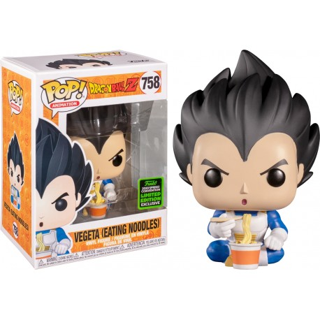 Vegeta eating noodles Dragon Ball Funko Pop 758