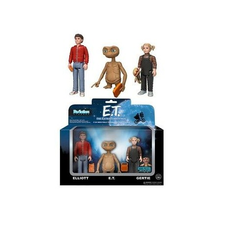 Figura E.T. el extraterrestre Reaction GITD funko exclusiva