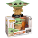 Child Baby Yoda wielding force Funko Pop 385 Mandalorian Star Wars
