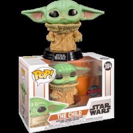 Child Baby Yoda concerned triste Funko Pop 384 Mandalorian Star Wars