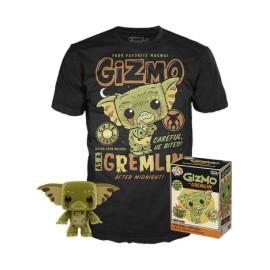 Pop and tee Gizmo Funko camiseta Talla M Gremlins