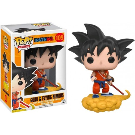Figura Son Goku Nimbus nube num 109 Pop Dragon ball z Pop Vinyl Funko