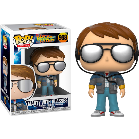 MArty McFly Future Outfit Funko Pop Back Future Regreso Futuro 962