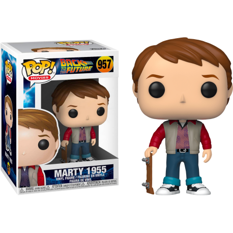 MArty McFly glasses Funko Pop Back Future Regreso Futuro 958