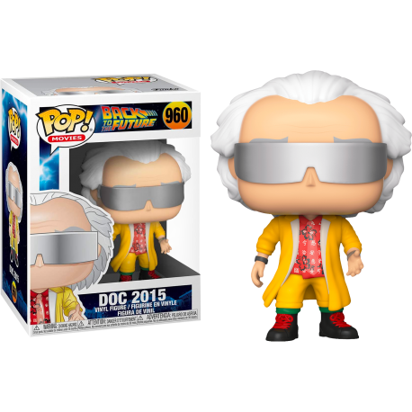 MArty McFly puffy vest Funko Pop Back Future Regreso Futuro 961