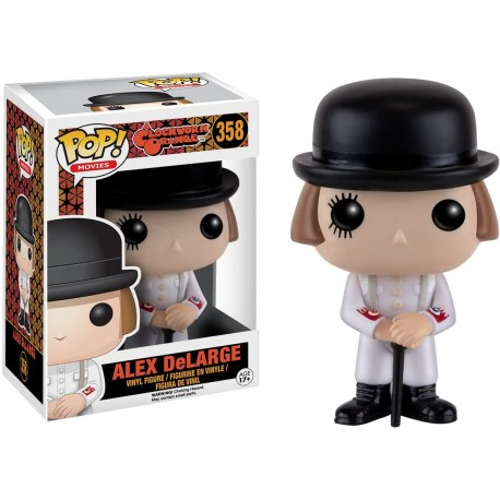 Alex Delarge Funko Pop 358 Clockwork Orange Naranja Mecánica
