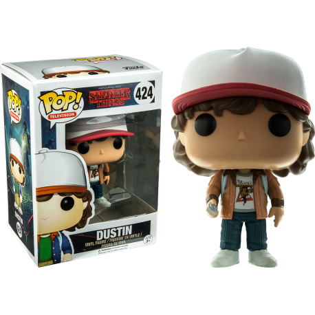 Dustin Baile con NYCC Stranger Things Pop Vinyl Funko