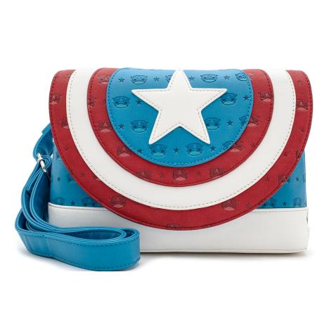 Mochila Capitán America Cosplay MArvel Loungefly