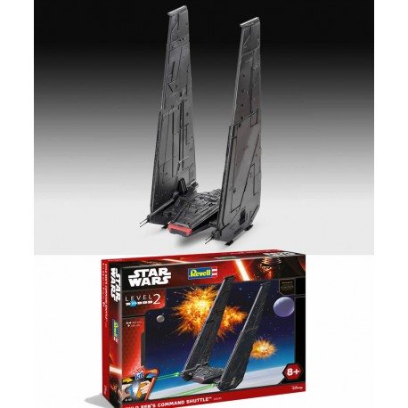 Star Wars Episode VII Maqueta EasyKit Kylo Ren's Command Shuttle 36 cm