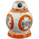 Galletero cerámica Star Wars BB-8 Bote para galletas con sonido BB8 galleta