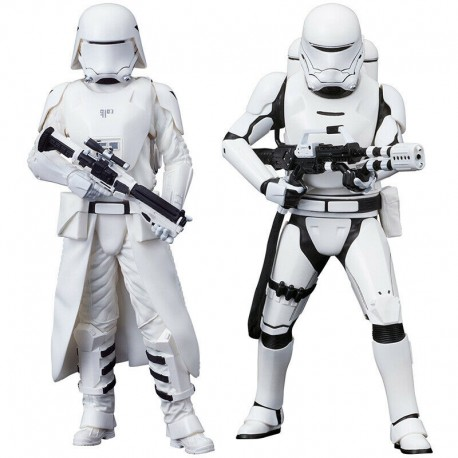 Star Wars Set 2 Estatuas PVC Snowtrooper Snow trooper Kotobukiya figura