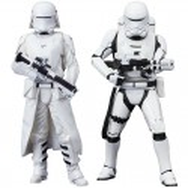 Star Wars Set 2 Estatuas PVC Snowtrooper Snow trooper Flame trooper Flametrooper Kotobukiya figura