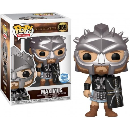 Maximus Maximo Decimo Meridio Gladiator Funko Pop exclusivo 859 SIN PEGATINA