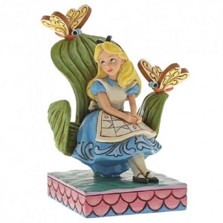 Figura Mrs Potts y Chip Jim Shore Disney Traditions LA Bella y la Bestia