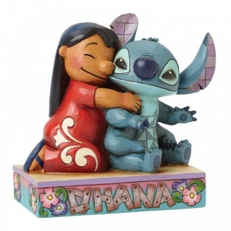 Figura Stitch Ohana means Family Lilo y Stitch