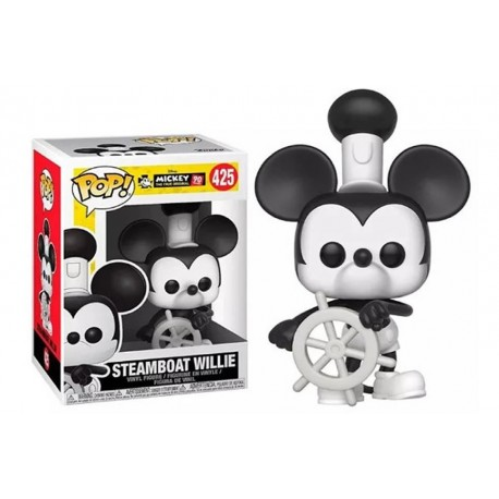 Mickey Mouse 90th aniversario bombero Disney Pop Funko