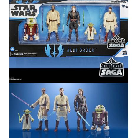 Pack 5 figuras Sith Celebration Saga Star Wars Saga
