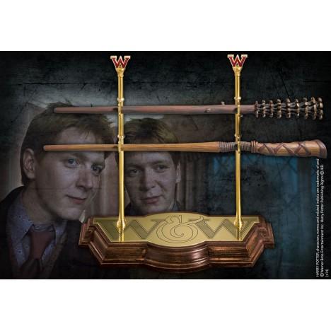 Réplica Varita mágica Draco Malfoy Ollivanders Harry Potter Noble collection wand