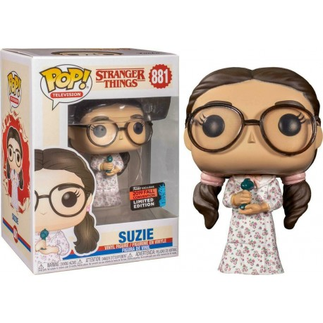 Dustin Brown Jacket 424 Stranger Things Pop Vinyl Funko