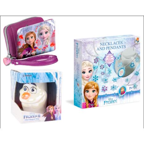 Pack 3 libretas Premium Ela Anna Olaf Frozen