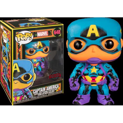 Thor 650 Black Light Avenger Vengadores Funko Pop