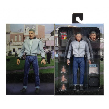 Marty McFly Ultimate Neca Regreso al Futuro 2 Figura BAck Future