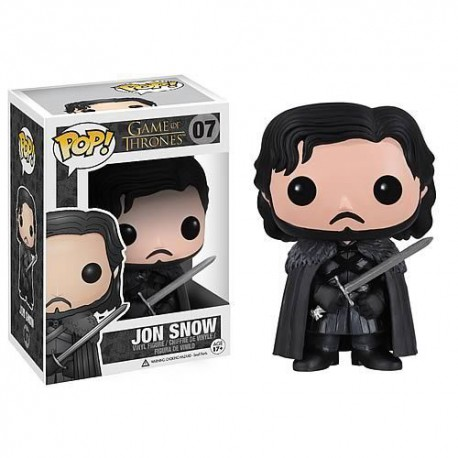 JON NIEVE SNOW num 07 JUEGO DE TRONOS FIGURA POP VINYL (Game of Thrones)
