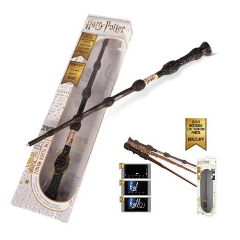 Réplica Varita mágica Hermione Granger Harry Potter lumos con luz Deluxe