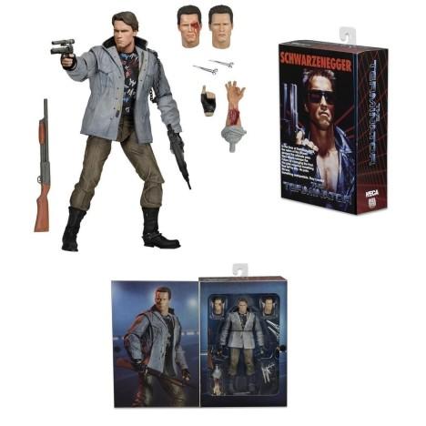 Figura ultimate T-1000 Terminator 2 varias cabezas Neca 18cm Figure