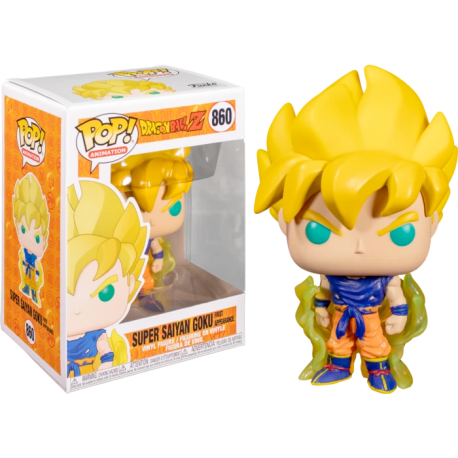 Figura Super Saiyan Goku num 014 Pop Dragon ball Pop Vinyk Funko Ed exclusiva