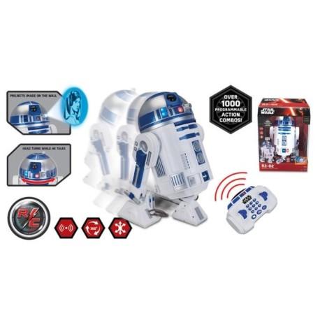 R2-D2 interactivo Droide Robótico movimiento , radiocontrol luz y sonido