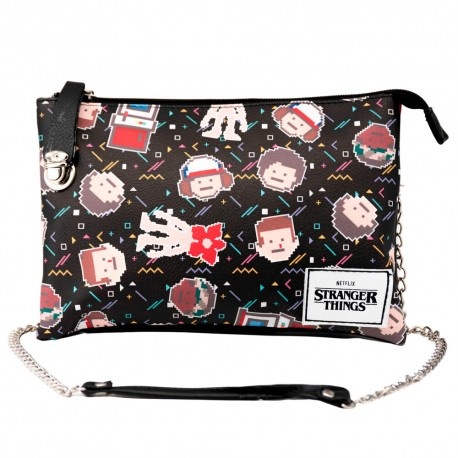 Bolso redondo Stranger Things eleven once Dustin Personajes