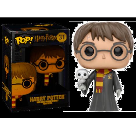 Figura Funko Pop Harry Potter con Hedwig lechuza ed esp