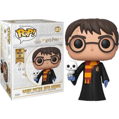 Figura gigante Funko Pop Harry Potter con Hedwig lechuza 45cm