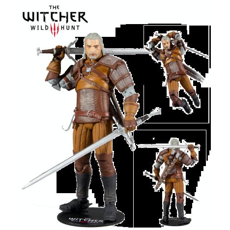 Figura Geralt Rivia Ursine DArk HOrse Witcher 30cm