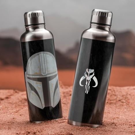 Botella cristal grande 1030ml Baby Yoda The Child Star Wars Mandalorian