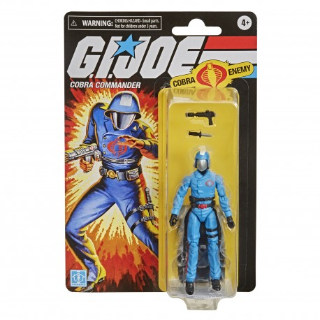 Figura Snake Eyes Retro Hiss Gi Joe
