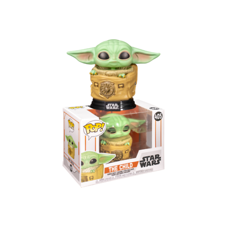 The Child Mandalorian with cup copa vaso Pop Funko Vinyl Star Wars Baby Yoda 378