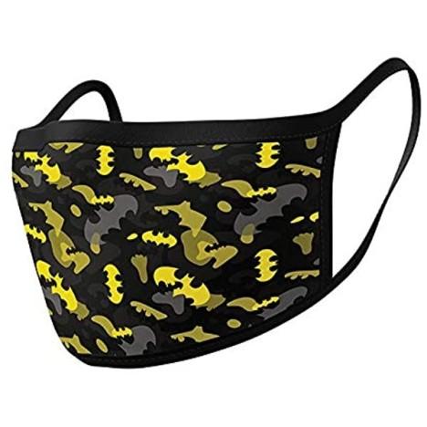 Pack de 2 mascarillas textiles premium oficiales Batman