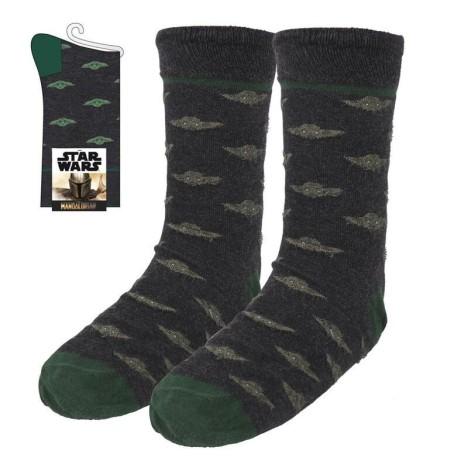 Calcetines Baby Yoda cuna MAndalorian Star Wars 40-46