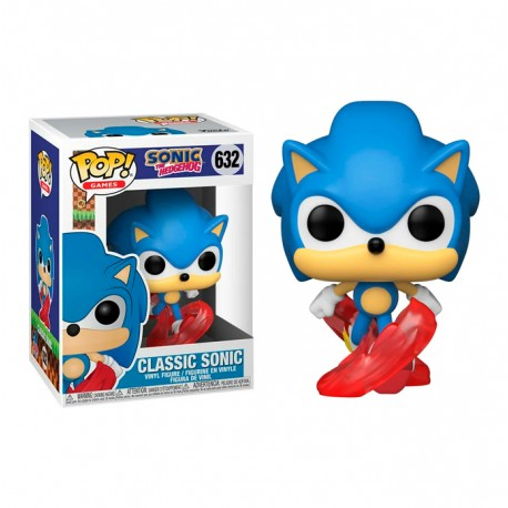 Figura Sonic Esmeralda Sega Funko Pop Emmerald