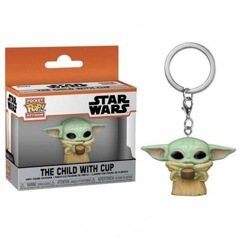 Llavero Child Baby Yoda Mandalorian Star Wars funko Pop funko keychain