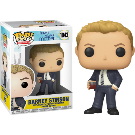 Ted Mosby Como Conocí a vuestra madre meet mother 1042 Pop Vinyl Funko