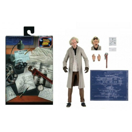Marty McFly Ultimate Neca Regreso al Futuro Figura BAck Future