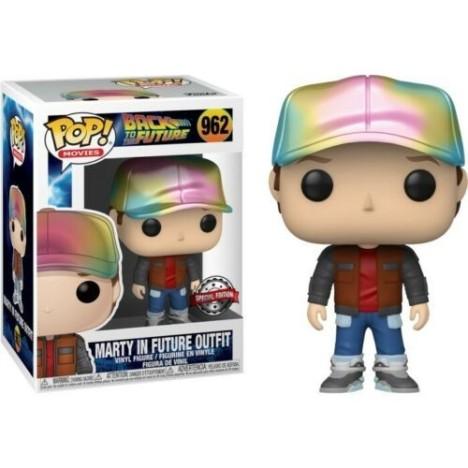 MArty McFly Future Outfit Funko Pop Back Future Regreso Futuro 962