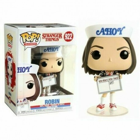 Steve temporada 3 hat ice cream Stranger Things Pop Vinyl Funko